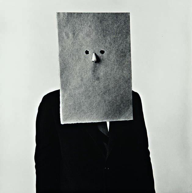 214: IRVING PENN, Steinberg in Nose Mask, New York, Sep