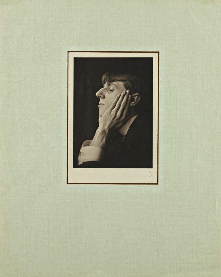 222: FREDERICK H. EVANS, Untitled (Portrait of Aubrey B