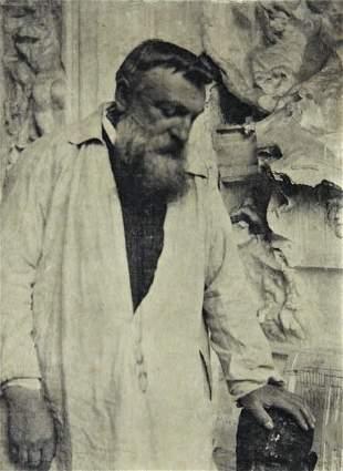 241: GERTRUDE KÄSEBIER, Auguste Rodin, 1905