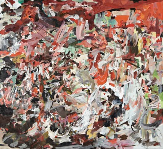8: CECILY BROWN, The Torment of St. Anthony, 2010