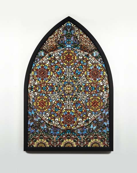 9: DAMIEN HIRST, Observation – The Crown of Justice, 20