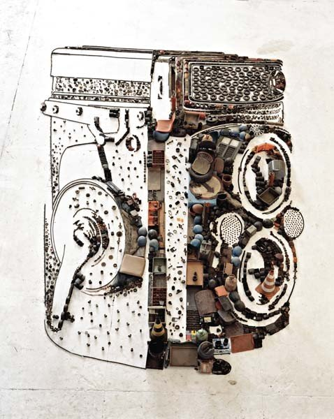 103: VIK MUNIZ, Rolleiflex from the series Pictures of
