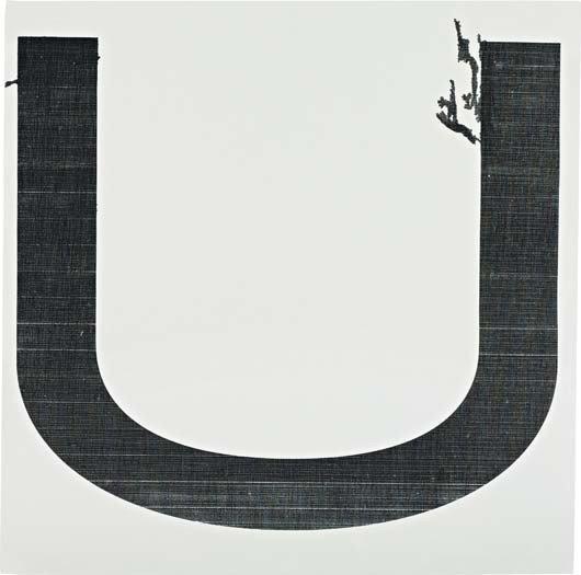 111: WADE GUYTON, Untitled, 2005