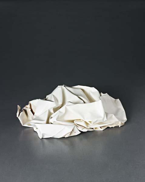118: ANGELA DE LA CRUZ, Nothing VI (white), 2004