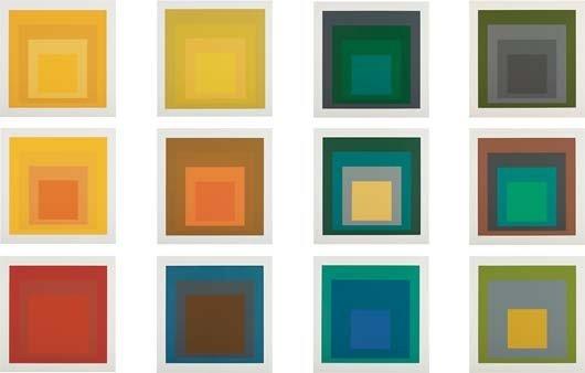 165: JOSEF ALBERS, Portfolio 'Homage to the Square', 19