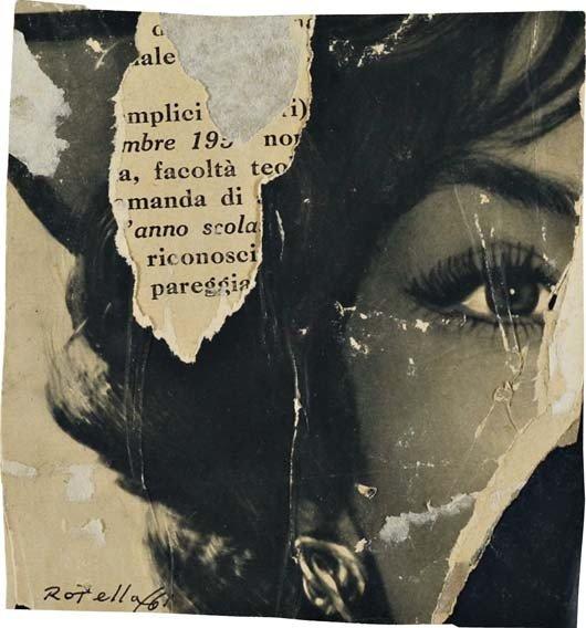 310: MIMMO ROTELLA, Riconoscimento, 1961