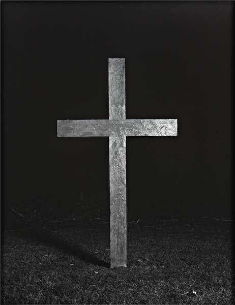 """19: MAX SNOW, """"Untitled (Cross II)"""", 2010"""