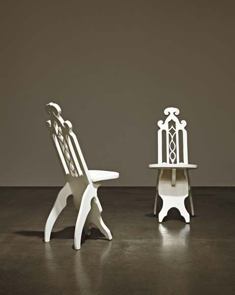 24: Pair of side chairs, second half 20th century