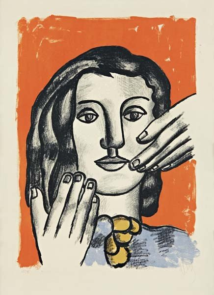 8: FERNAND LEGER,La grande Margot,1951