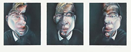17: FRANCIS BACON,Three Studies for a Self-Portrait,197