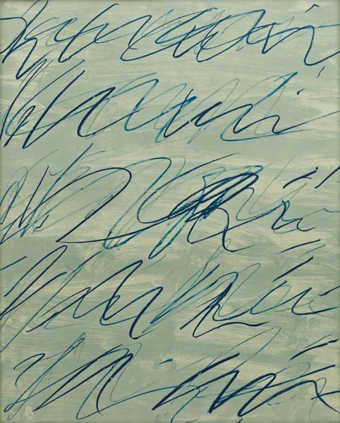 20: CY TWOMBLY,Roman Notes V, from Roman Notes,1970