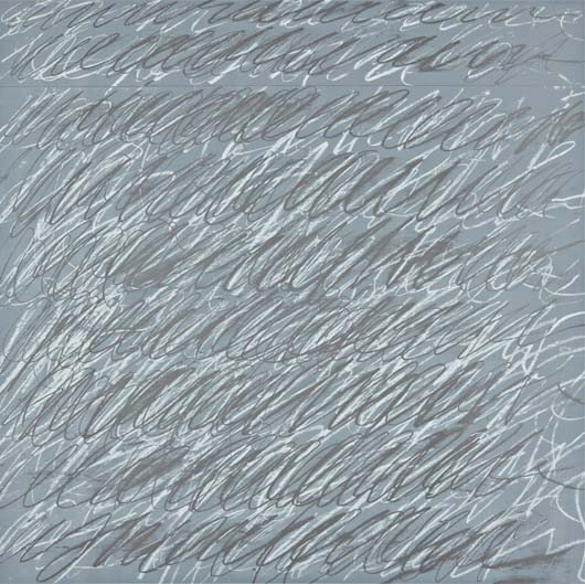 23: CY TWOMBLY,Untitled, from On the Bowery portfolio,1