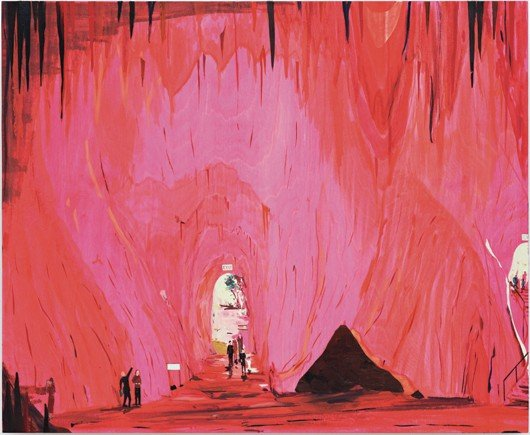 6: Jules de Balincourt, Exiting the Caves, 2009