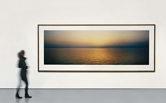 6: WIM WENDERS,Lake Galilee before Sunrise,circa. 2000