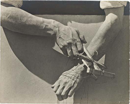 19: TINA MODOTTI,Hands of the Puppeteer, Mexico,circa.