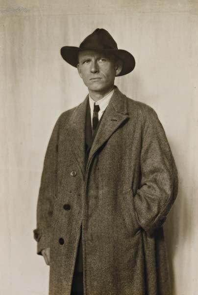 22: AUGUST SANDER,The painter Otto Dix, Dresden,circa.