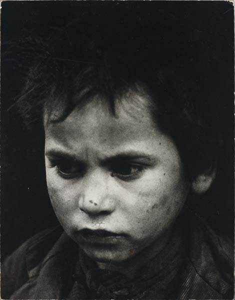 113: SABINE WEISS,Portrait of a child, Toledo, Spain,ci