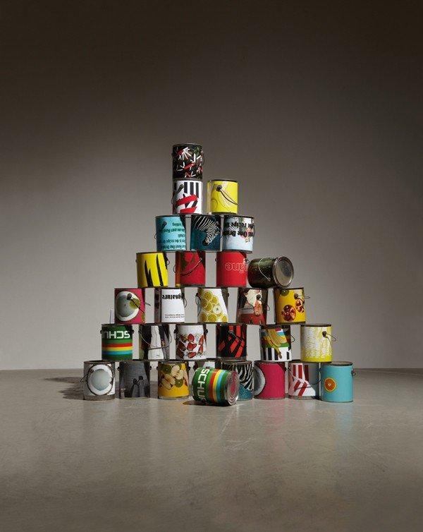 203: GUYTON\WALKER, 30 Paint Cans from (Dear Ketel One