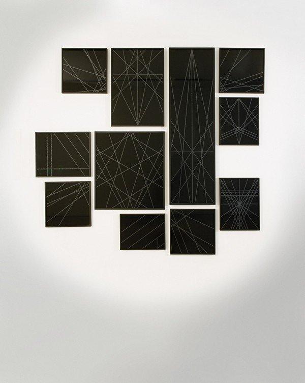 218: MARC SWANSON, Black Glitter, 2007