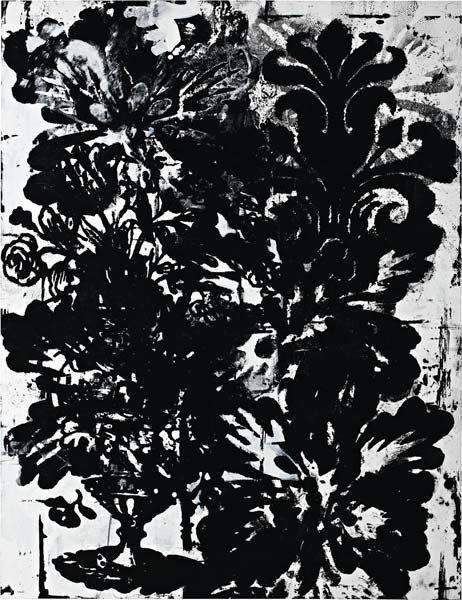 4: CHRISTOPHER WOOL, Untitled (P 177), 1993