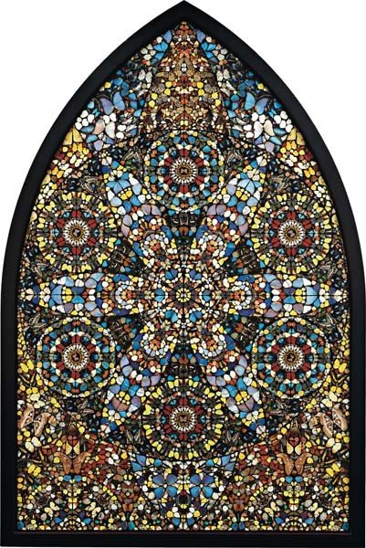 10: DAMIEN HIRST, Disintegration - The Crown of Life, 2
