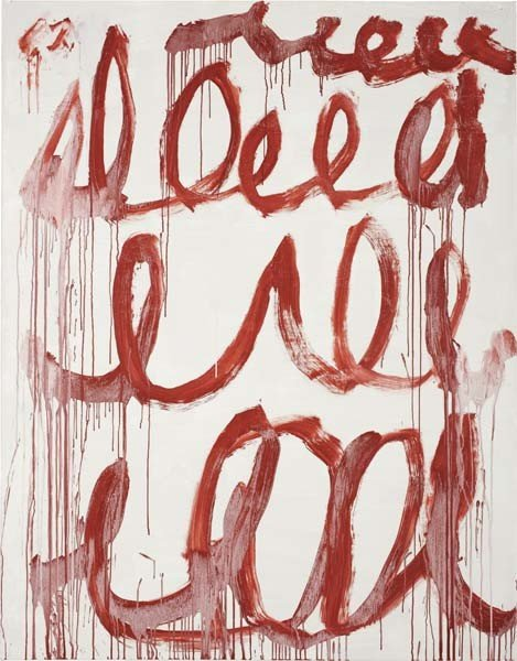 20: CY TWOMBLY, Untitled, 2006
