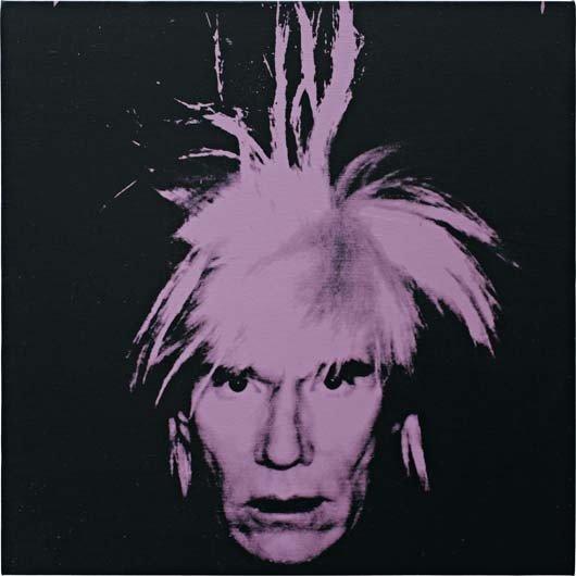 21: ANDY WARHOL, Self-Portrait, 1986