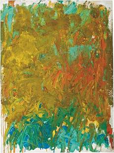 31: JOAN MITCHELL, Untitled, 1981