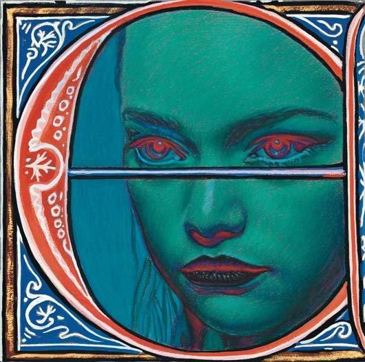 4: RICHARD PHILLIPS, Illumination (Esther), circa. 2011