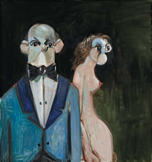 12: GEORGE CONDO, The Butler, circa. 2011