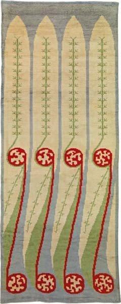 14: AXSELI GALLEN-KALLELA,Rare and early carpet,circa.