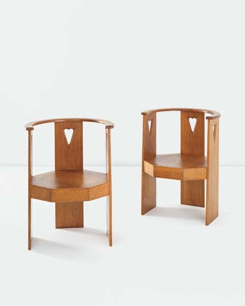 15: ELIEL SAARINEN,Pair of office chairs for the State