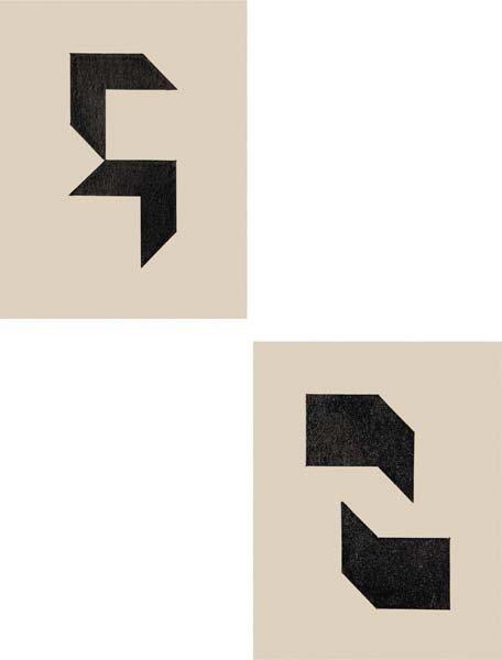12: WILLYS DE CASTRO, Two Works: Projetos Para Pintura,