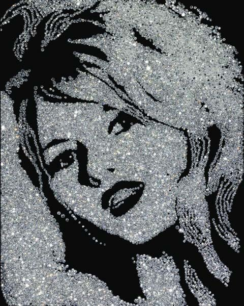 21: VIK MUNIZ, Brigitte Bardot (Diamond Divas), 2004