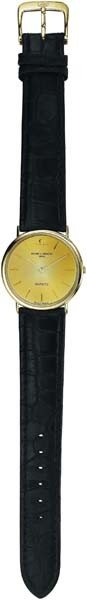 9: BAUME AND MERCIER, A Gold Wristwatch