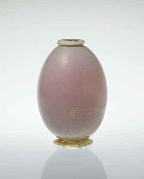 "4: TOMASO BUZZI, ""Laguna"" vase, model no. 3298, ca. 193"