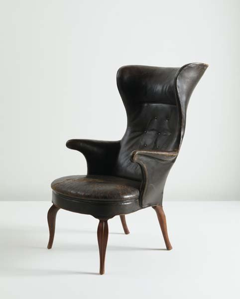6: FRITS HENNINGSEN, Wingback armchair, ca. 1935