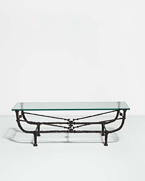 """9: DIEGO GIACOMETTI, """"Berceau"""" table, first version, ca"""
