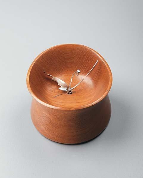 16: VIVIANNA TORUN BÜLOW-HÜBE, Rare table clock, model