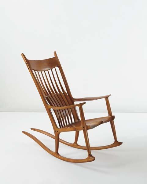 18: SAM MALOOF, Rocking chair, 1983