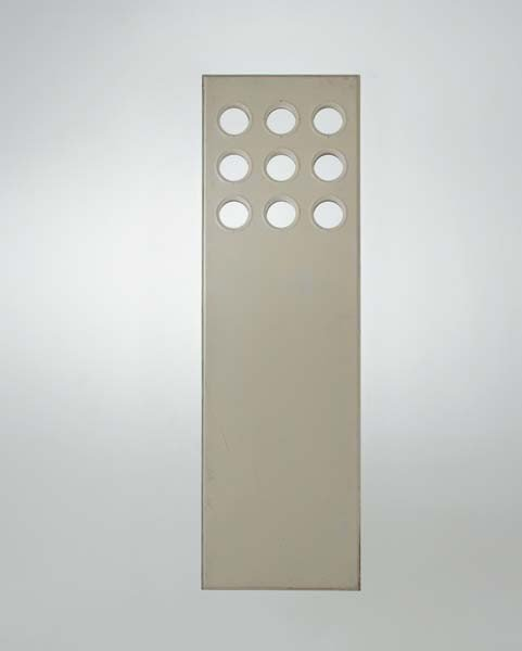 21: JEAN PROUVÉ, Panel with porthole windows, from the
