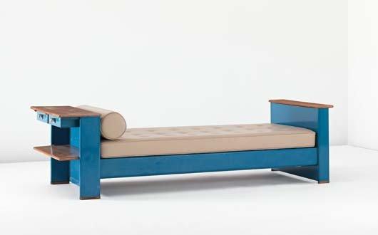 23: JEAN PROUVÉ, Bed, model no. 102, ca. 1936