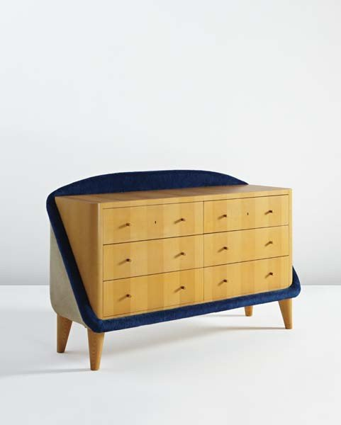 """24: JEAN ROYÈRE, Rare """"Œuf"""" chest of drawers, 1956-1958"""