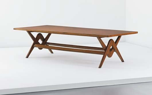 "104: PIERRE JEANNERET, ""Committee"" table, model no. LC/"