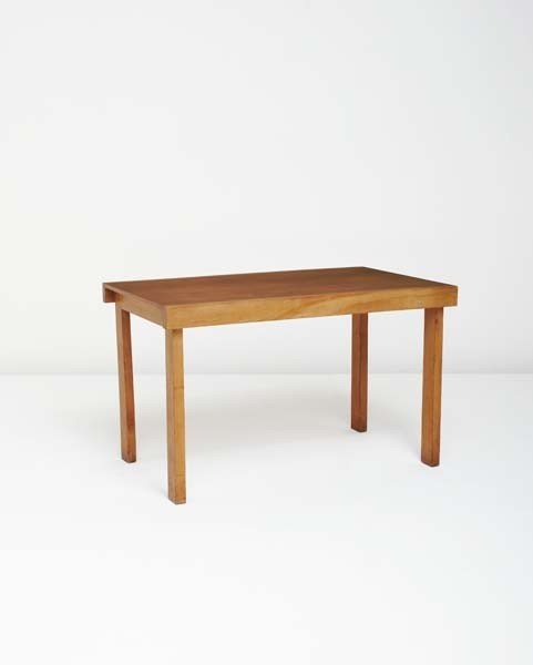 117: MARCEL BREUER, Dining table, from the apartment of
