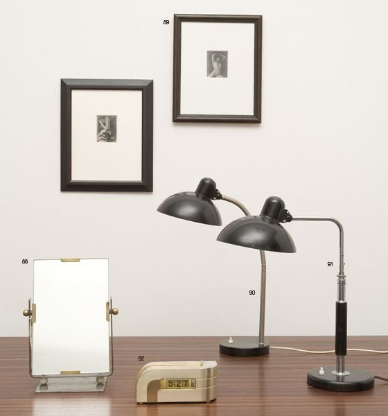 90:  CHRISTIAN  DELL  1893-1974  Table Lamp, 1930s.  Ma