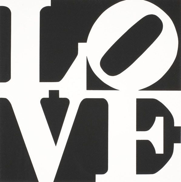 226: ROBERT INDIANA b. 1928 The Book of Love (Two W