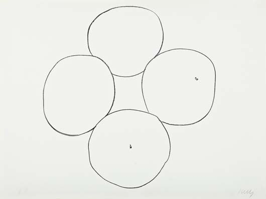 15: ELLSWORTH KELLY,Oranges, from Suite of Plant Lithog