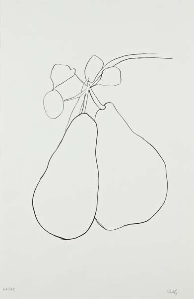 16: ELLSWORTH KELLY,Pear II (Poire II), from Suite of P