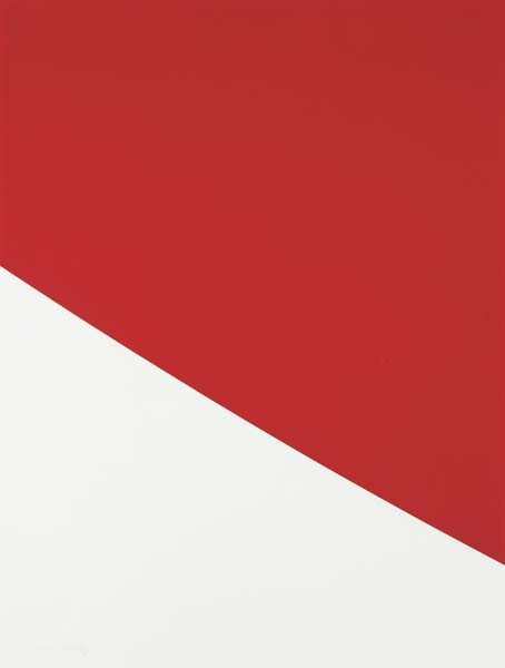 18: ELLSWORTH KELLY,Red Curve, 2000